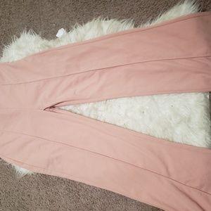 Fashion nova pink flair pants